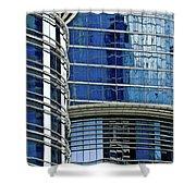 Houston Architecture 1 Shower Curtain