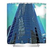 Houston Architecture 2 Shower Curtain
