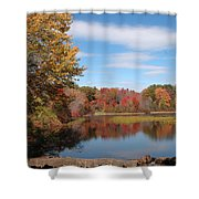 Howard's Lake Shower Curtain