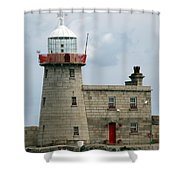Howth Lighthouse 0001 Shower Curtain