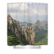 Huangshan Granite 1 Shower Curtain