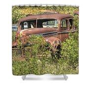 Hudson Sedan Shower Curtain