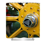 Hudson Wheel Shower Curtain