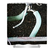 Huffy Bicycle Shower Curtain