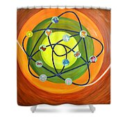 Human Birth Sign Shower Curtain