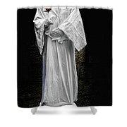 Human Statue Shower Curtain