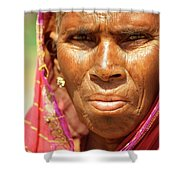 Humble Woman Shower Curtain
