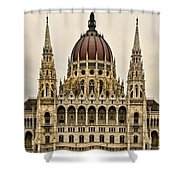 Hungarian Parliment Building Shower Curtain