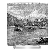 Hungary: Budapest, 1886 Shower Curtain