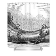 Hunting Horn, 1869 Shower Curtain