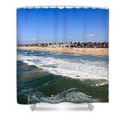 Huntington Beach Orange County California Shower Curtain
