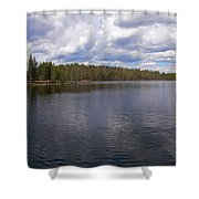 Huossilampi Shower Curtain