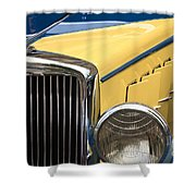 Hupmobile Grille Shower Curtain