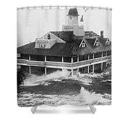 Hurricane Carol Shower Curtain