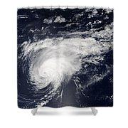 Hurricane Gordon Over The Atlantic Shower Curtain
