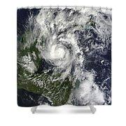 Hurricane Paula Shower Curtain