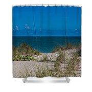 Hutchinson Island Heaven Shower Curtain by Trish Tritz