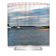 Hyannisport At Sunset Shower Curtain