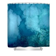 Hydrothermal Smoker Vent Shower Curtain by Science Source