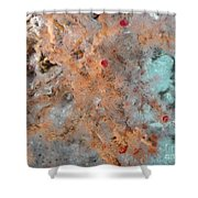 Hydrothermal Vent Tubeworms Shower Curtain
