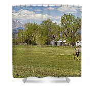 Hygiene Colorado Boulder County Scenic View Shower Curtain