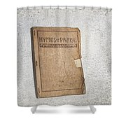 Hymnal Shower Curtain