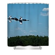 I 39 Fighter Jets Shower Curtain