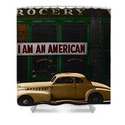 I Am An American Shower Curtain