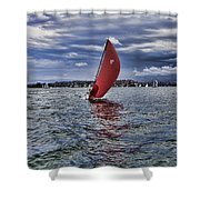 I Am Sailing V2 Shower Curtain