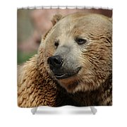 I Am Smiling Shower Curtain