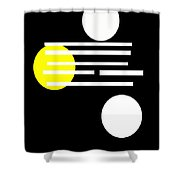 I Ching 1 Shower Curtain