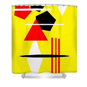 I Ching 2 Shower Curtain