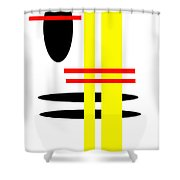 I Ching 7 Shower Curtain