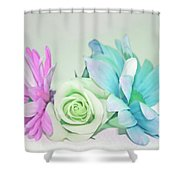 I Dream Of Flowers Shower Curtain