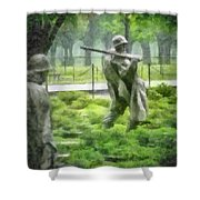 I Got Your Back Shower Curtain