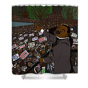 I Have A Dream Shower Curtain by Karen Elzinga