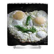 I Like To Cook Differently. Morning Creation. Shower Curtain