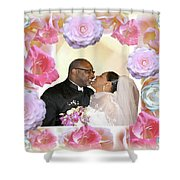 I Pronounce You Husband And Wife Shower Curtain