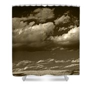 I Really Don't Know Clouds At All Shower Curtain
