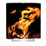 I See Fire Shower Curtain