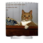 I Shall Make You Ruler Shower Curtain