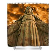 I Will Save You Shower Curtain