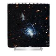 I Zwicky 18 Galaxy Shower Curtain