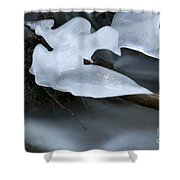 Ice 3 Shower Curtain