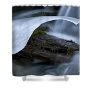 Ice 5 Shower Curtain