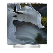 Ice 9 Shower Curtain