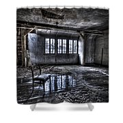 Ice Chair Shower Curtain by Nathan Wright