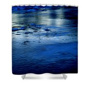 Ice Frost And Snow Shower Curtain