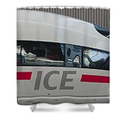 Ice Germany Shower Curtain