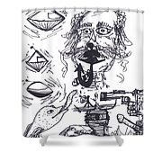 Ice House Chronicles 51 Shower Curtain